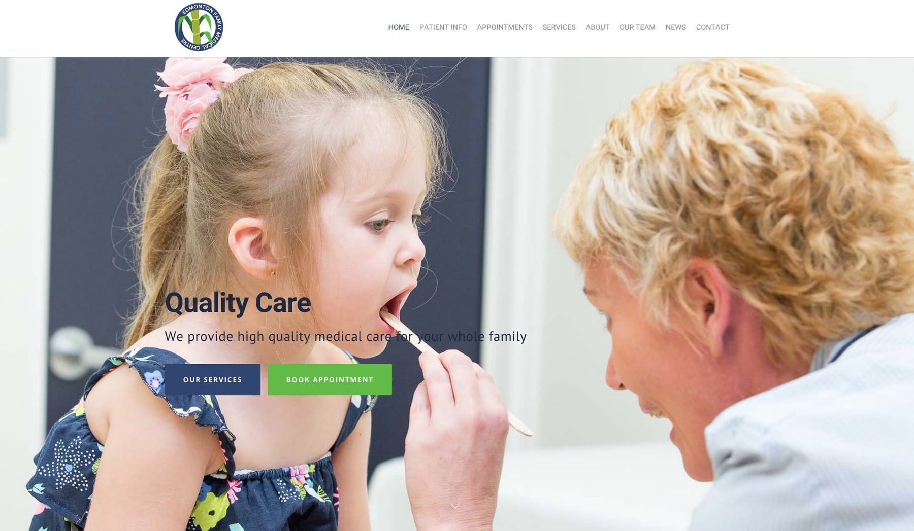 Edmonton Family Medical Launch New Website