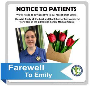 Farewell to Emily