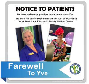 Farewell to Yve